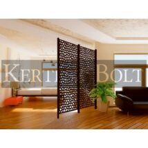 Mosaic PP panel barna 1x2 m