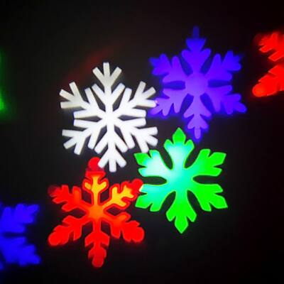 Hull a hó kültéri projektor