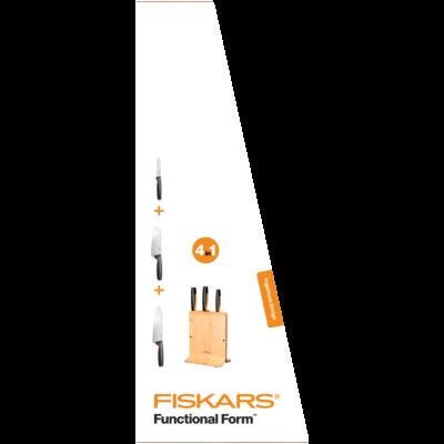 FF Késblokk bambusz 3 késes