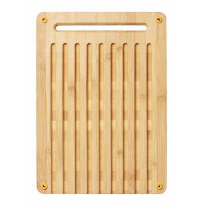 Bambusz vágódeszka kenyérszeleteléshez