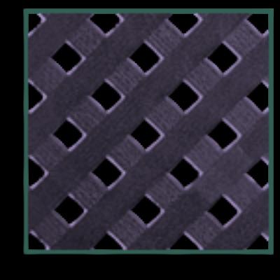 Privat dekoratív kültéri panel fekete
