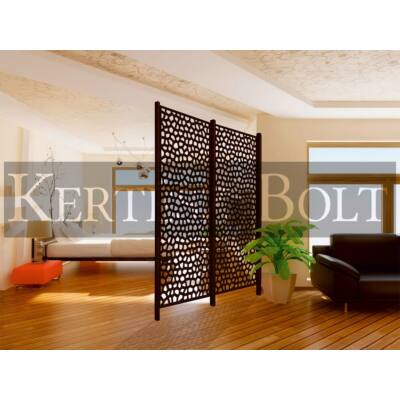 Mosaic PP panel antracit 1x2 m
