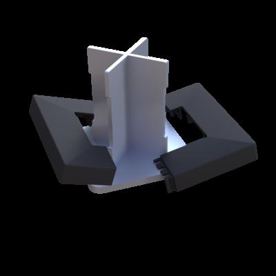 TAP BASFIX  takaró elem a BASFIX rögzítőre 2db/csomag