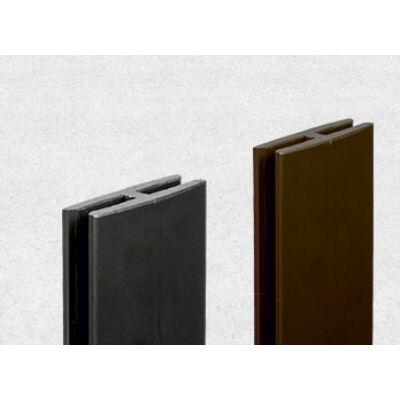 Profil H rögzítő barna elem 2 m